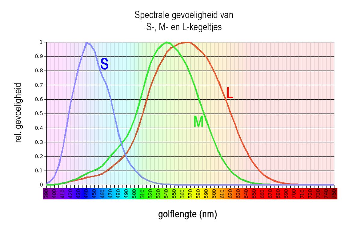 Kleurenblind - Grafiek