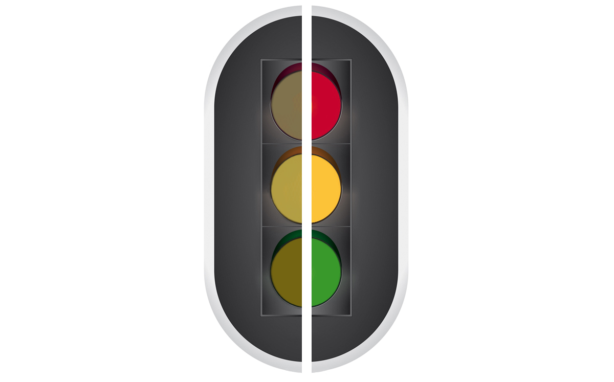 Kleurenblind - Verkeerslicht